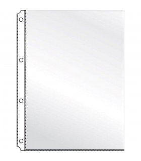 Folie protectie cristal A4, 120 microni, 10/set, KANGARO