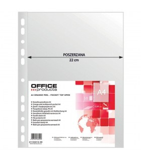 Folie protectie transparenta A4, 90 microni, 50/set, Maxi OFFICE PRODUCTS