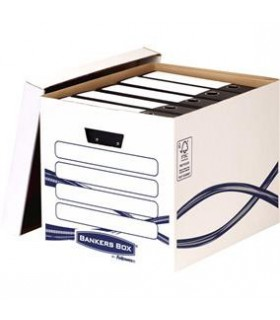 Container arhivare bibliorafturi Bankers Box FELLOWES