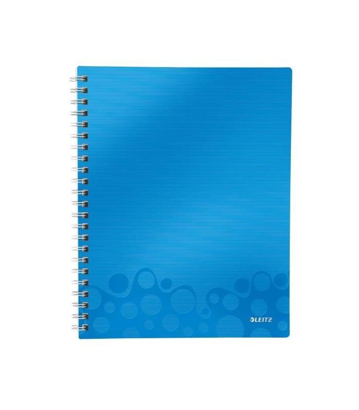 Caiet de birou A4, 80 file, cu spira, dictando, Get Organized Wow LEITZ