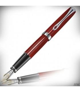 DIPLOMAT Excellence A2 - Stilou cu penita M, aurita 14kt - Sky-Line Red