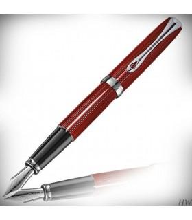 Stilou cu penita M, din otel inoxidabil - Sky-Line Red Excellence A2 DIPLOMAT