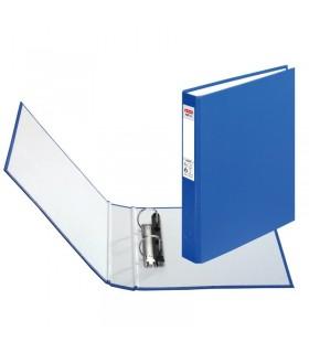 Caiet mecanic A5 2 inele albastru HERLITZ