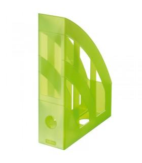 Suport documente vertical plastic diverse culori translucide HERLITZ