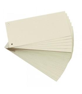 Separatoare carton pentru biblioraft 10,5 x 24 cm, bej HERLITZ