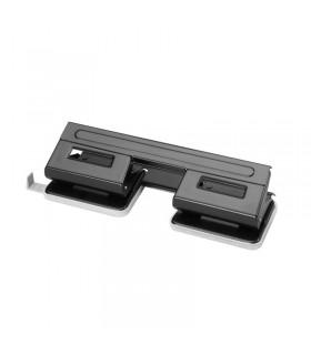 Perforator birou cu 4 perforatii, negru, HERLITZ