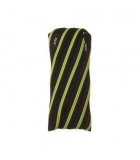 Penar cu fermoar, Glowy Twister - negru cu dinti galbeni ZIPIT
