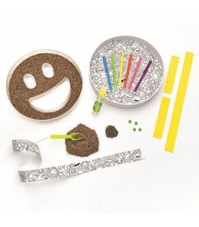 Set creativity grow gradina emoji FABER-CASTELL