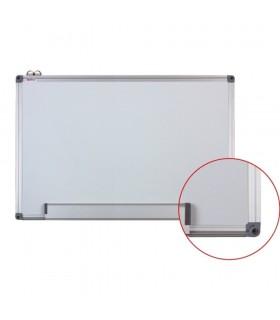 Tabla alba magnetica cu rama din aluminiu, 100 x 150 cm, Optima