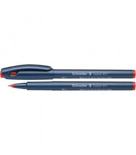 Roller diverse culori Topball 857, varf cu bila 0.6 mm SCHNEIDER