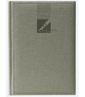 Agenda nedatata A6, coperta culoare gri HERLITZ