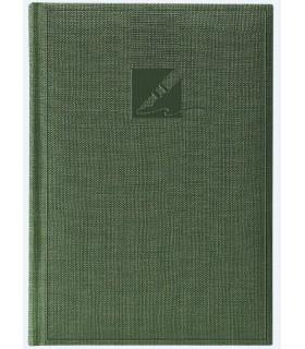 Agenda nedatata A6, coperta culoare verde HERLITZ