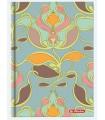 Agenda HERLITZ nedatata Glamour RO A5, 224 pagini, coperta tare, motiv Art Deco