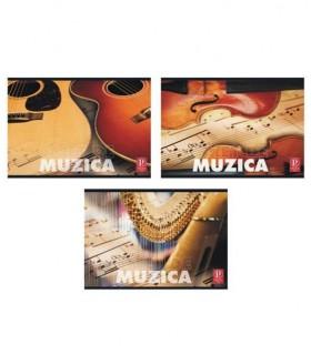 Caiet muzica color 24 file PIGNA