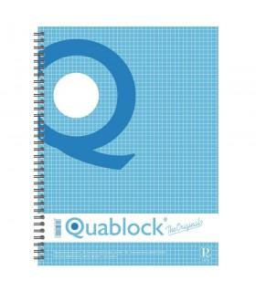 Caiet A4 cu spira, 120 file, Quablock PIGNA