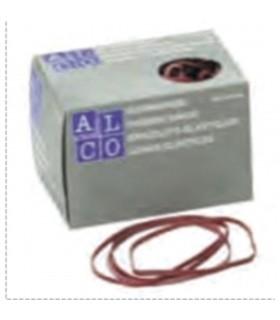 Elastice pentru bani, 500 g/cutie, D 100 x 5 mm, ALCO