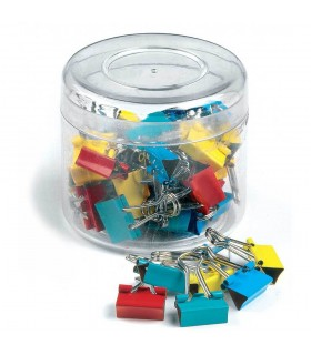 Clip hartie 15 mm 50/cutie culori asortate ARTIGLIO