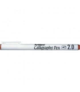 Marker Calligraphy diverse culori, varf tesit din fetru 2.0 mm  ARTLINE