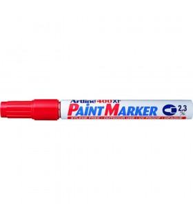 Marker cu vopsea diverse culori, corp metalic, varf rotund 2.3 mm ARTLINE