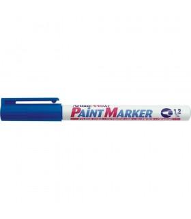 Marker cu vopsea diverse culori, corp metalic, varf rotund 1.2 mm ARTLINE