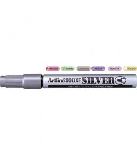 Marker cu vopsea 900XF, corp metalic, varf rotund 2.3 mm ARTLINE