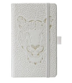 Bloc notes 9 X 14 cm, 192 file, dictando, Ivory Animals HERLITZ