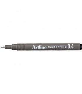 Marker desen tehnic diverse culori, varf fetru 0.04 mm ARTLINE