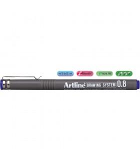 Marker desen tehnic diverse culori, varf fetru 0.08 mm ARTLINE