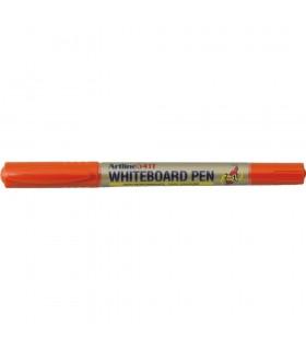 Marker pentru tabla de scris diverse culori, 2 varfuri rotunde 0.4 mm/1.0 mm ARTLINE
