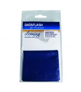 Laveta microfibra pentru suprafete sensibile, 15 x 18 cm, DATA FLASH