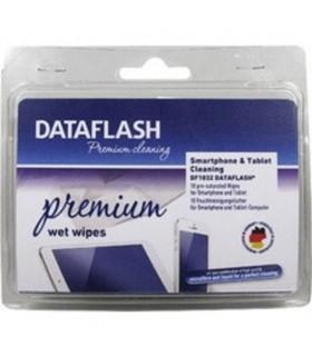 Servetele umede mici, pentru curatare tablete/smartphone-uri, 10 buc/set, DATA FLASH Premium