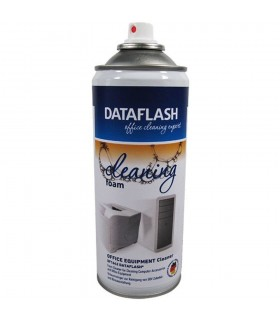 Spuma curatare suprafete din plastic, metal, sticla (exclus TFT/LCD/Plasma), 400ml, DATA FLASH