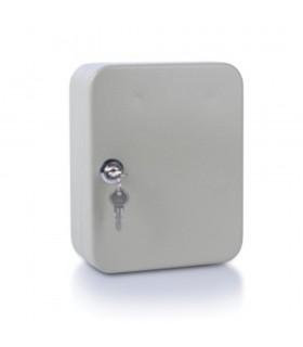 Panou metalic pentru 20 chei, gri, 200 x 160 x 80 mm, DONAU