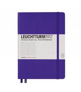 Caiet A5, coperta rigida, violet dictando LEUCHTTURM