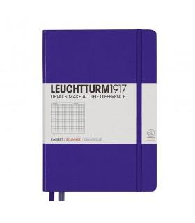Caiet A5, coperta rigida, violet matematica LEUCHTTURM