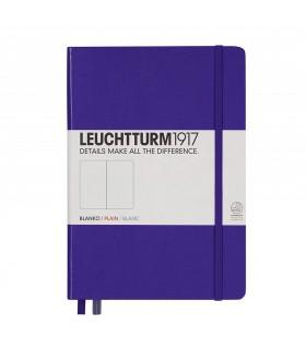 Caiet A5, coperta rigida, violet velin LEUCHTTURM