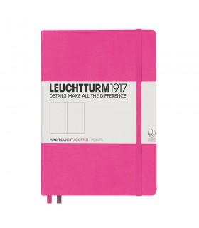 Caiet A5, coperta rigida, roz punctat LEUCHTTURM