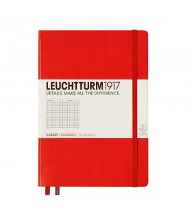 Caiet A5, coperta rigida, rosie matematica LEUCHTTURM
