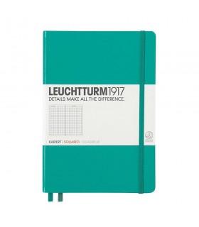 Caiet A5 matematica coperta rigida turcoaz LEUCHTTURM