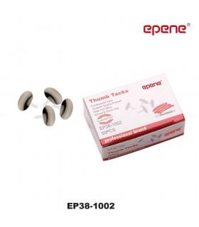 Pioneze metalice argintii 50/cutie EPENE