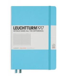 Caiet A5 matematica coperta rigida bleu LEUCHTTURM