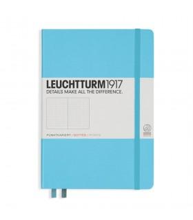 Caiet A5 punctat coperta rigida bleu LEUCHTTURM