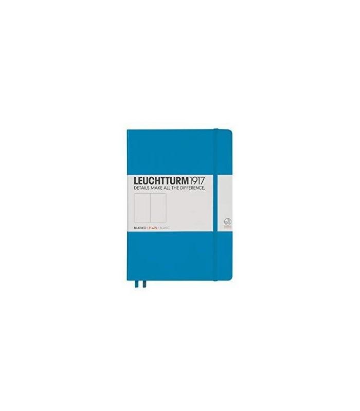 Caiet A5 velin coperta rigida albastru azur LEUCHTTURM
