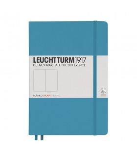 Caiet A5 velin coperta rigida albastru nordic LEUCHTTURM