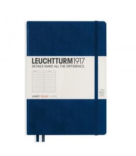 Caiet A5 dictando coperta rigida albastru navy LEUCHTTURM