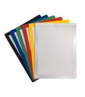 Buzunar magnetic pentru documente A4, cu rama color, 2 buc/set, JALEMA