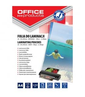 Folie pentru laminare A4 100 microni 100 buc/top OFFICE PRODUCTS