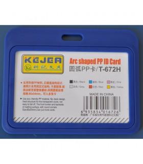 Ecuson albastru, rigid, tip arc, 5 buc / set, diverse modele KEJEA