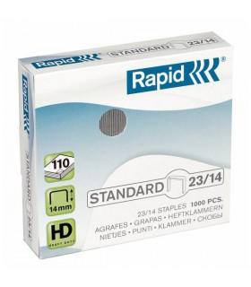 Capse 23/14, 1000 buc/cutie, Standard  RAPID