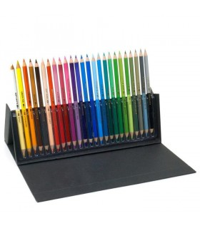 Creioane colorate Chameleon 25/set + Carte de colorat Lori's Art Garden CADOU